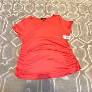 NWT Coral Maternity top